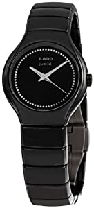 Rado True Jubile Black Ceramic Ladies Watch R27655732 from Rado