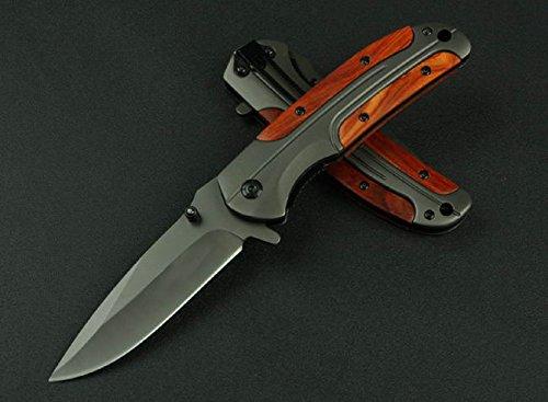 Black Executive Series Speedster Assisted Opening Knife Da43-8.07''