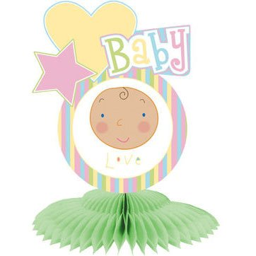 Baby Faces Large Centerpiece (1 ct) (1 per package) - 1