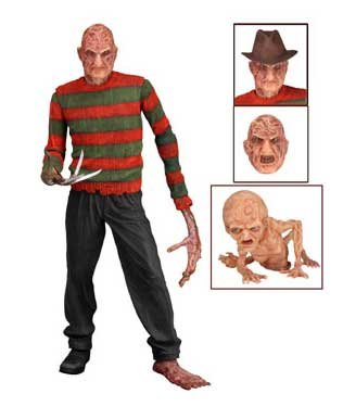 "Neca Nightmare on Elm Street Series 3 - Dream Warriors Freddy Version 2 - 7"" Action Figure"