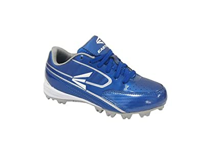 Buy Easton Youth Turbo Lite Blue Silver Team Baseball Cleats by Easton