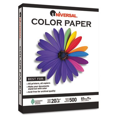 UNV11221 - Universal Colored Paper (Coupon Spirit Halloween)