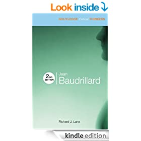Jean Baudrillard (Routledge Critical Thinkers)