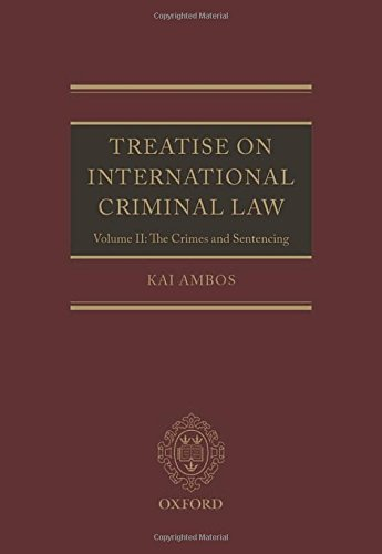 essays on international criminal law - international law international law is the body of legal rules that apply between sovereign states and such other entities as have been granted international personality (status acknowledged by the international community.
