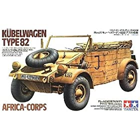 German Kubelwagen Type 82 Military Model Kit