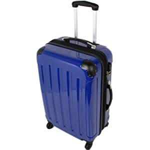 blau business koffer reisekoffer koffer trolley boardcase. Black Bedroom Furniture Sets. Home Design Ideas