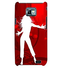 ColourCraft Dance Back Case Cover for SAMSUNG GALAXY S2 I9100