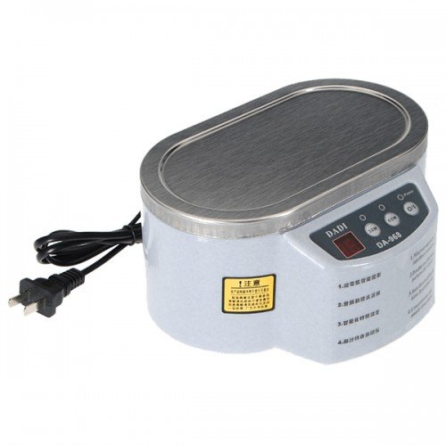 Big Bargain Mini Ultrasonic Cleaner For Jewelry Glasser Circuit Board 220V 50/60Hz 30W 50W