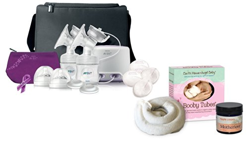 Philips Avent Comfort Double Electric Breast Pump With Booby Tubes & Nipple Cream