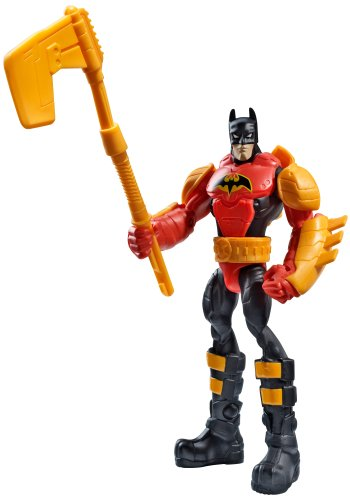 Batman Power Attack Mission Blaze Buster Batman Figure