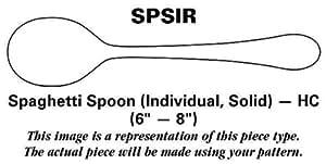 Oneida Quadratic (Stainless) Spoon-Spaghetti/Solid-Individual HC