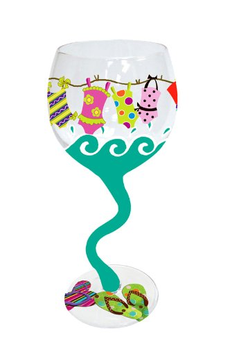 Swimsuits Wine Glass