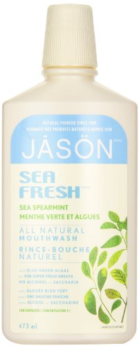 Jason Sea Fresh Mouthwash, Sea Spearmint, 16 Ounce