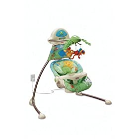 Fisher-Price Open-Top Cradle Swing
