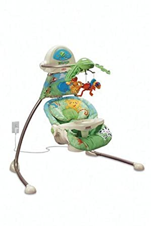 Rainforest Open-Top Cradle Swing