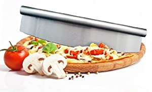 Culina Premium Stainless Steel Rocking Pizza Cutter 14 by Culina