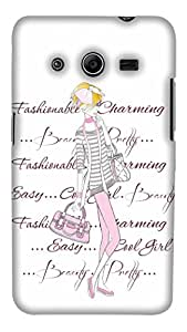 PrintHaat Fablous Peacock High Gloss Designer Back Case Cover for Samsung Galaxy Core 2 G355H :: Samsung Galaxy Core Ii :: Samsung Galaxy Core 2 Dual