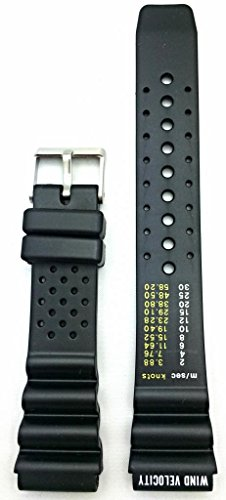 20Mm Black Watch Band