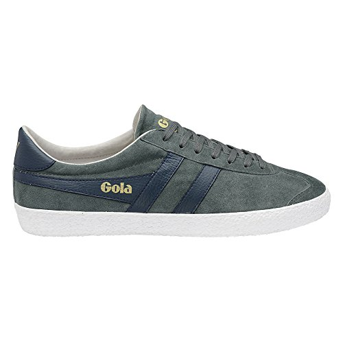 Gola Men's Specialist Fashion Sneaker, Grey/Navy, 8 UK/9 M US