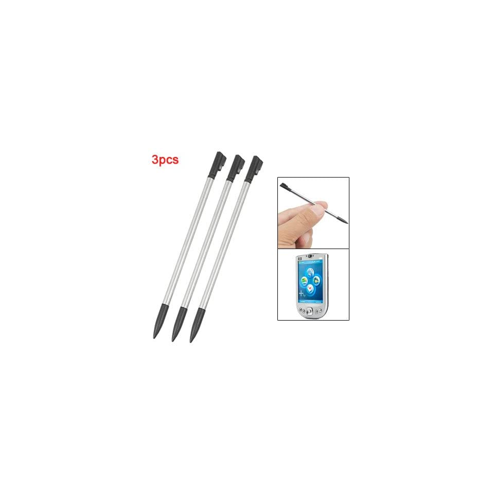 Gino Replacement Metal Plastic Screen Stylus Pen 3Pcs for HP iPaq 1900