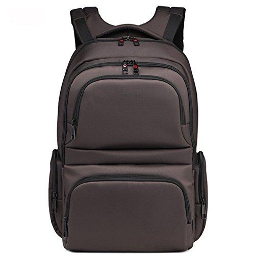 yacn-zaino-per-computer-portatile-in-nylon-3962-cm-156-da-viaggio-in-tela-marrone