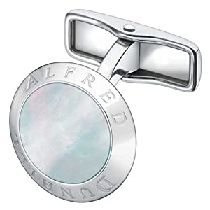 Dunhill Coin White Mother of Pearl Cufflinks