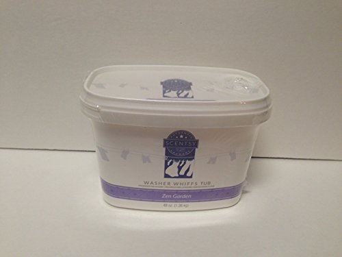 Layers by Scentsy Washer Whiffs (Zen Garden, 48 oz Tub) (Layers Washer Whiffs compare prices)