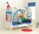Worlds Apart Knights Single Bed Feature Tent