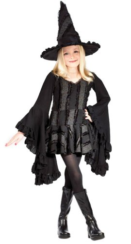 Kid's Stitch Witch Costume (Size:Large 12-14)