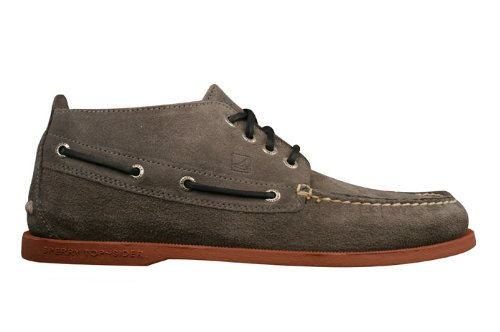 Sperry Top Sider A/O Chukka Mens Leather Shoes – Grey