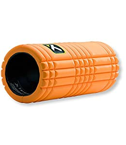 TriggerPoint GRID Foam Roller with Free Online Instructional Videos, Original (13-inch), Orange