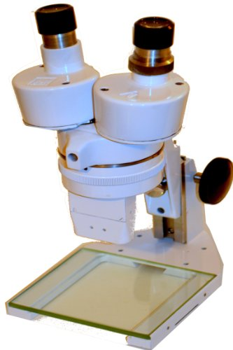 Bausch And Lomb (Yd6464) Vintage Stereo Microscope Completely Refurshed To New Enamel White