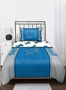 NFL Detroit Lions Bedding Set, Twin by Northwest