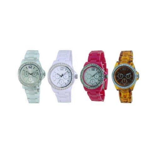 Women'S Stylish Fashion Watch-Clear