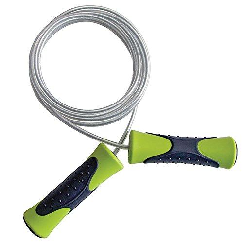66fit-corde-a-sauter-pro-vitesse-cable-dacier-vert-noir