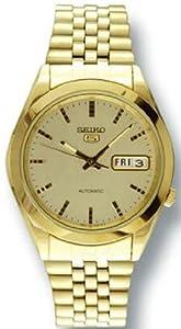 Gold Tone Seiko 5 Automatic Champagne Dial