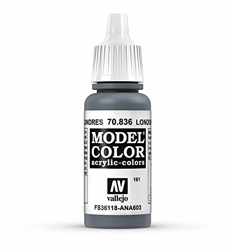 Vallejo London Grey Paint, 17ml