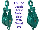 1.5 Ton Double Sheave Snatch Block 5