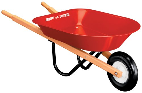 41G96M2T00L Reviews Radio Flyer Kids Wheelbarrow