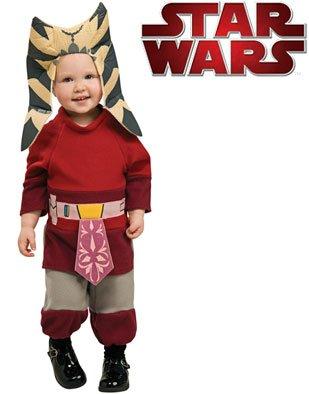 Amazon.com: Star Wars Padawan Baby Jedi Ahsoka Costume Newborn 0-6m: