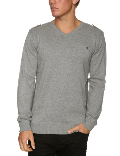 Quiksilver Uyuni Mens Sweatshirt Light Grey Heather X-Large