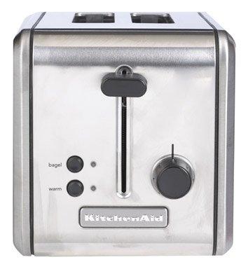 KitchenAid KMTT200SS 2-Slice Metal Toaster, Brushed Stainless Steel (Kitchenaid Toaster Oven Knob compare prices)