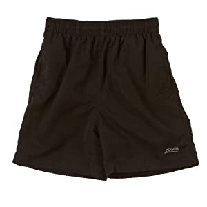 Zoggs Boy's Penrith Swimming Shorts - Black, Large