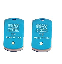 TF-T306 Usb Single Card Reader ( Pack Of 2 Pcs ) For TF, M2, Micro SD, T-Flash Memory Cards ( Colors May Vary ) - Only From M.P.Enterprises