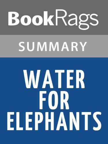water for elephants by sara gruen essay Essay on water for elephants book review - do you really think that the book you have been reading is tremendous the novel water for elephants by the award winning author sara gruen, is an exciting entrancing bestseller.
