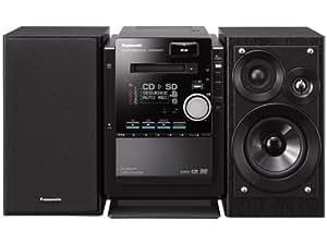 Panasonic DVD/SDステレオシステム D-dock ブラック SC-PM930DVD-K