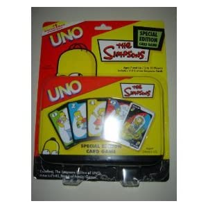 Uno Simpsons tin