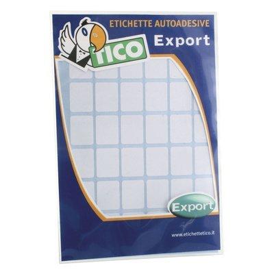 Tico 418289 Export Etichetta da 27x18 mm, Confezione da 10 Pezzi