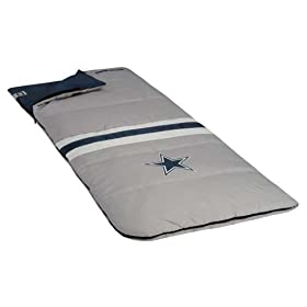 <b>Dallas Cowboys NFL Sleeping Bag by North Pole</b>