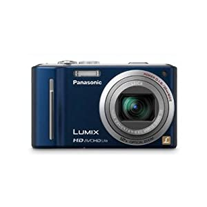 41G9HhaEdcL. SL500 AA300  Panasonic Lumix DMC ZS7 12.1MP Digital Camera in Blue   $215 + Free Shipping